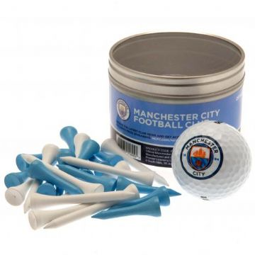 Manchester City Golf Ball & Tee Set